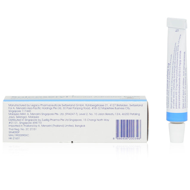 Solcoseryl Dental Adhensive Paste 5g_sideview 2