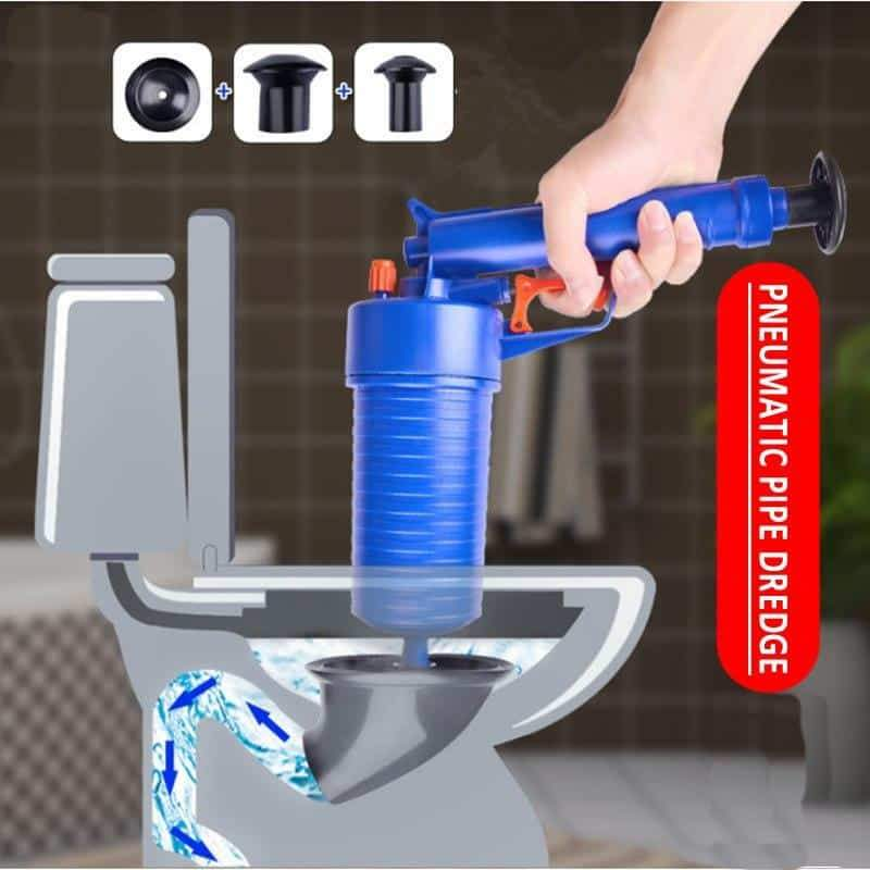 (Up to 50% OFF) Air Blow Gun: Easy Unclogs Sinks and Toilets With A Trigger