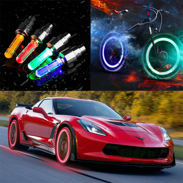 ( Hot Sale Today! Up to 50% discount!) Waterproof Led Wheel Lights