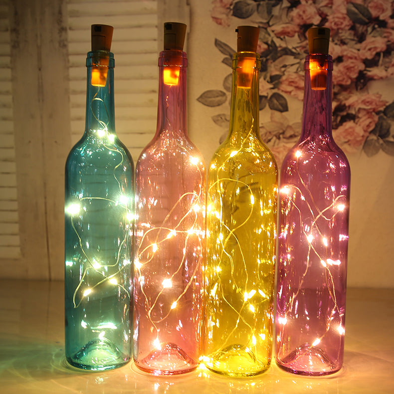 Only TodayBuy 10 Free 5 & Buy 20 Free 15 --Solar energy LED Bottle Lights