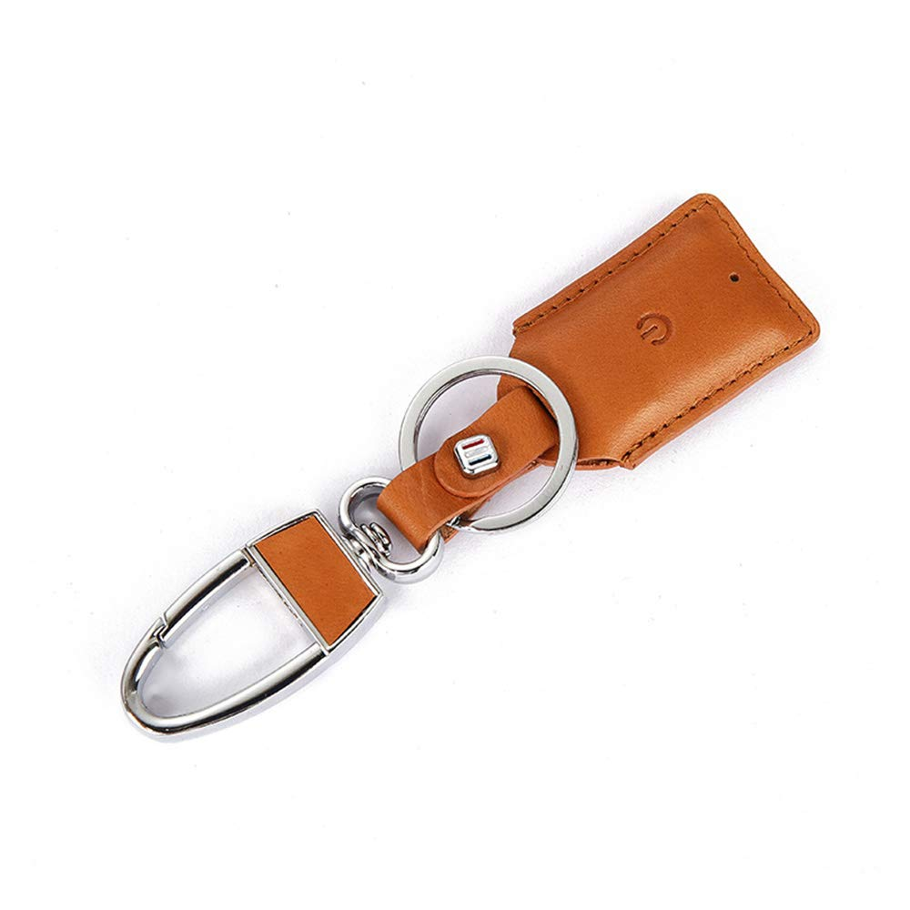 Lmfens--Intelligent anti - loss key chain Leather Keychain