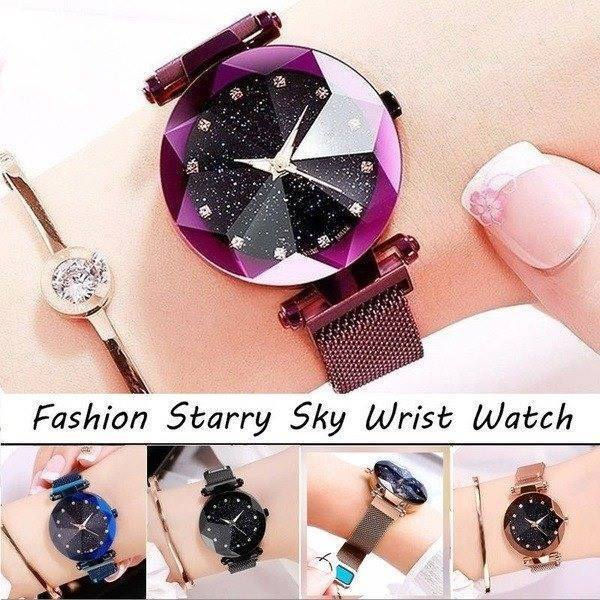 50% OFF- Six Colors Starry Sky Watch Perfect Gift Idea(Buy 3 Free Shipping!)