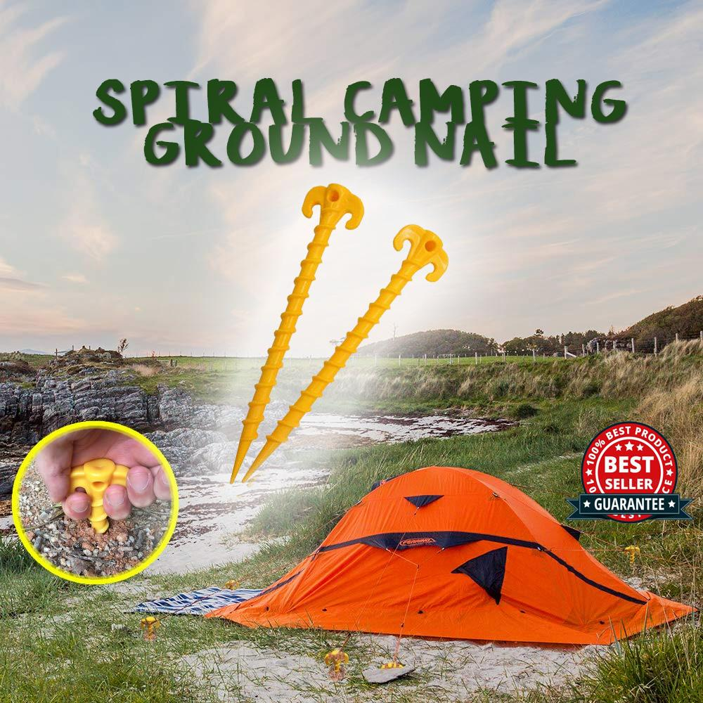 Spiral Camping Ground Nail - 50% OFF TODAY ONLY!
