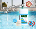 Pool Cleaning Tablet (100 tablets) - 50% OFF TODAY ONLY!