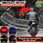 ( Hot Sale Today! 50% OFF!) MotorSafe™ Wireless Helmet Brake&Turn Lights-HOT