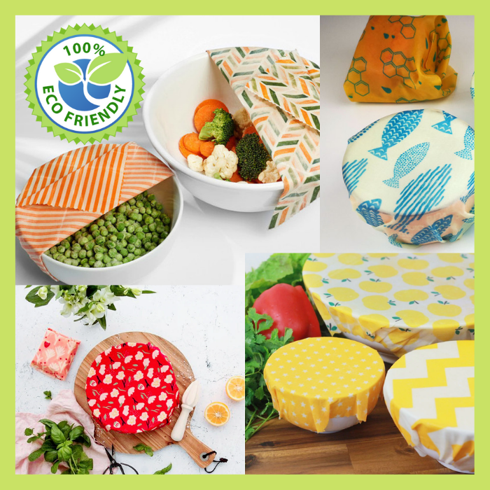 ( Hot Sale Today! Up to 50% discount!)100% Natural Reusable Food Wraps - Go Green Today!