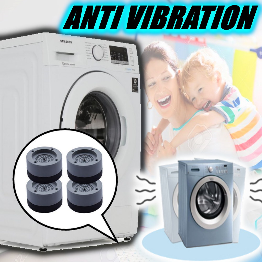 ( Hot Sale Today! Up to 50% discount!) Washing Machine Anti-Vibration Pad