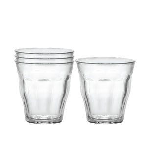 Duralex Picardie Clear Tumbler, Set of Four Picardie Clear Tumbler, Set of Four