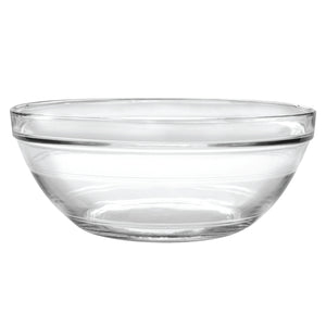 Duralex Lys Stackable Clear Bowl Size: 6 quart, Package: Set of 6