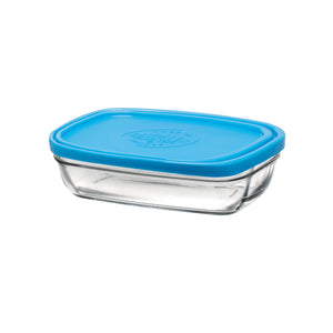 Duralex Lys Rectangular Bowl with Lid Lys Rectangular Bowl with Lid