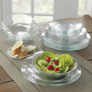 Duralex Lys Dinnerware Soup Plate Lifestyle