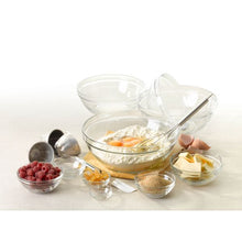 Duralex Lys Stackable Clear Bowls, Mixed Lifestyle
