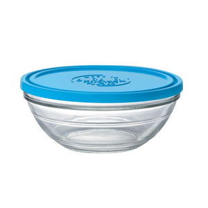 Duralex Lys Round Bowl with Lid Size: 2.5 quart