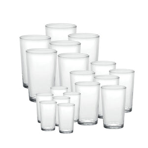 Duralex Unie Tumbler 18 Piece Set Size: 18 Piece Set