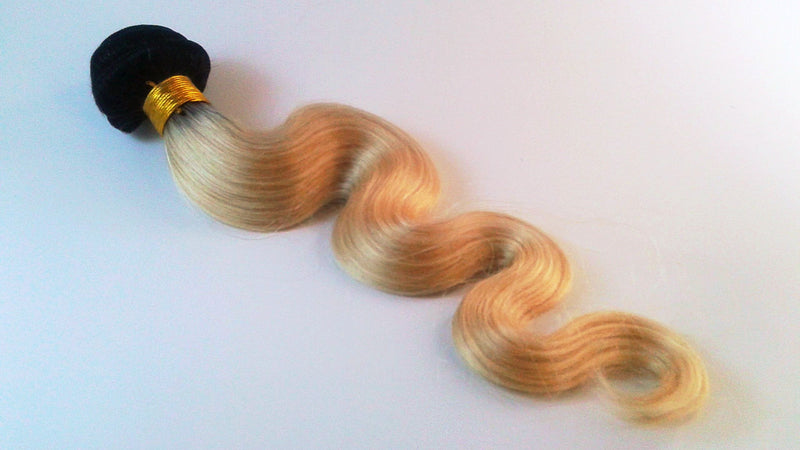 Mink Blonde 613 Hair with Dark Roots