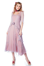Nataya Tea Rose Chiffon 10709 Mauve Dress
