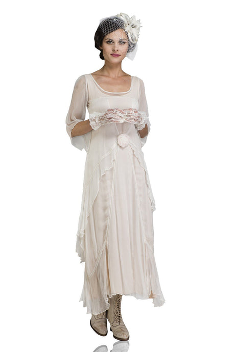 Nataya Great Gatsby 10709 Dress in Ivory