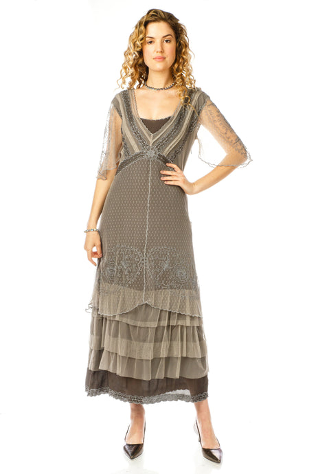 Nataya Sylvia 40827 Dress in Slate