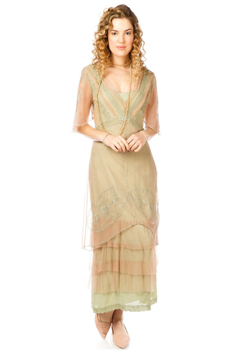 Nataya Sylvia 40827 Dress in Sage
