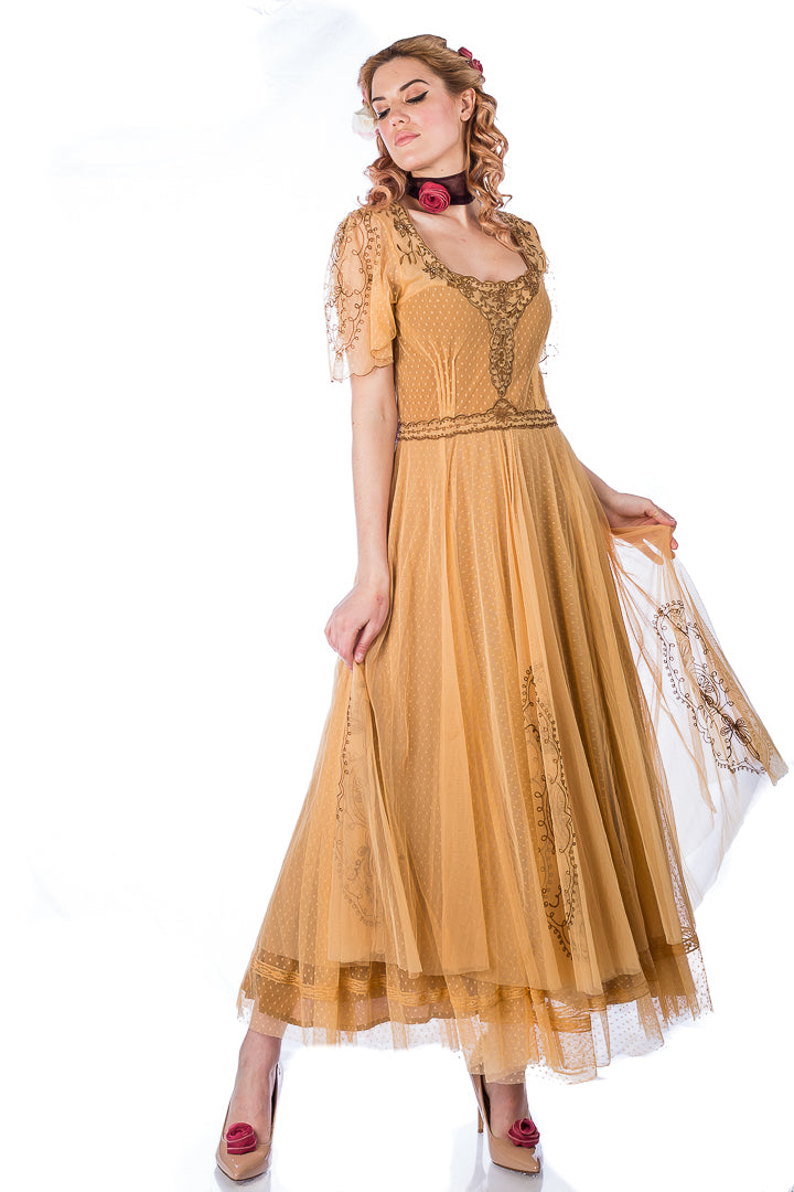 Nataya Alice 40815 Gold Gown