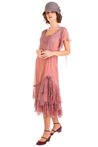 Nataya AL283 Dress in Mauve