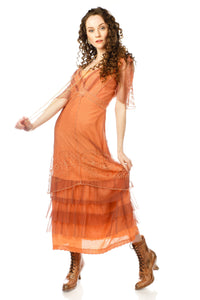 Nataya Sylvia 40827 Dress in Grapefruit Rose