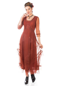Nataya Samantha CL-163 Paprika Dress