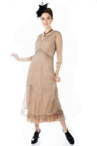 Nataya Sophia CL-509 Sand Dress