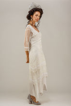 Nataya 5901 Victorian Lace Ivory Tea Dress