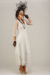 Nataya Samantha CL-163 Ivory Dress