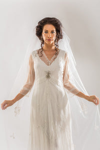 Nataya Sophia CL-509 Ivory Dress