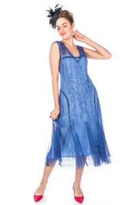 Nataya Jackie AL-281 Periwinkle Dress
