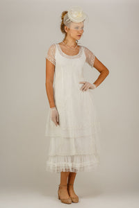 Nataya Arianna CL-169 Ivory Dress