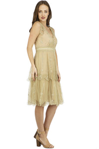 Nataya Gianna AL-235  Sage Dress