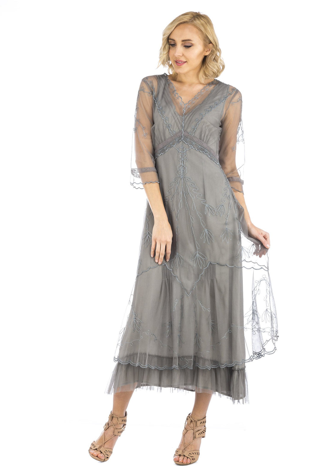 Nataya Sophia CL-509 Smoke Dress