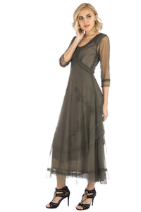 Nataya Samantha CL-163 Olive Dress
