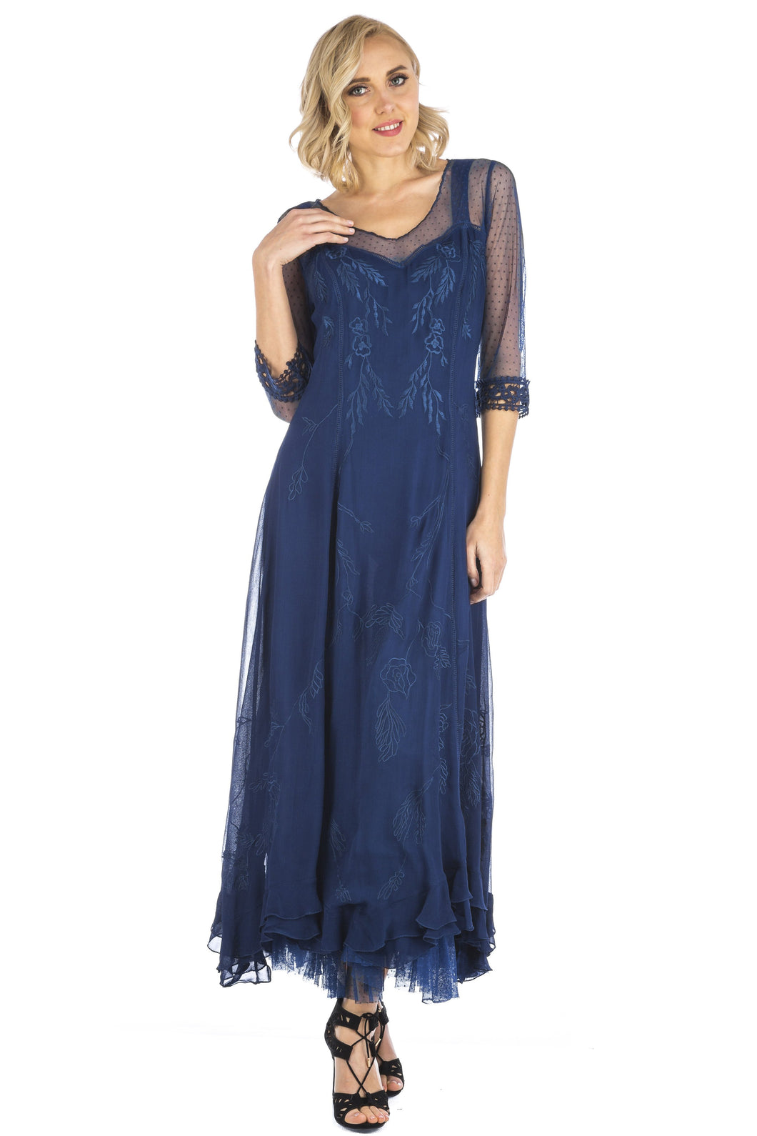 Nataya Celine CL-068 Royal Blue Gown