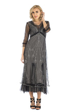 Nataya Sophia CL-509 Black/Silver Dress