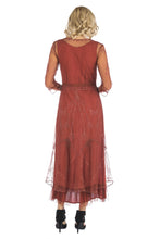 Nataya Sophia CL-509 Paprika Dress