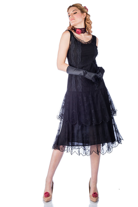 Nataya Eva AL-282 Black Dress