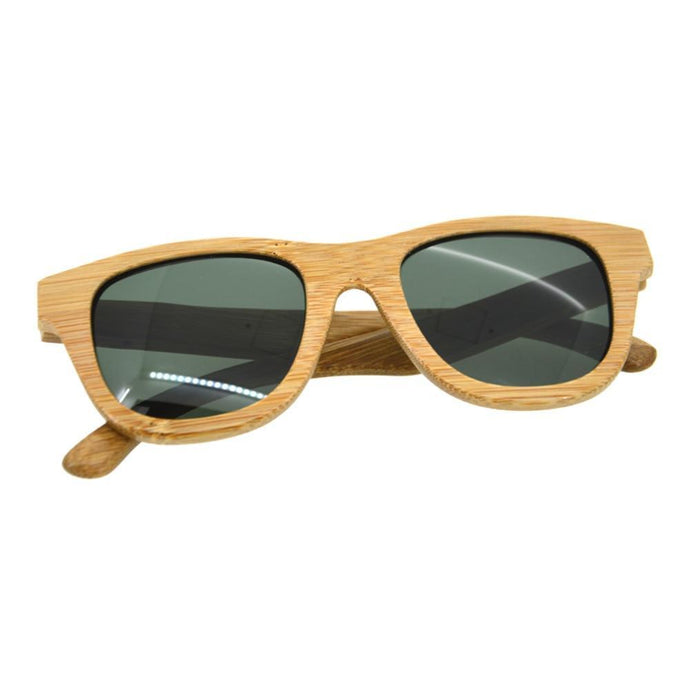 Classic Fashionable Wooden Frame Sunglasses