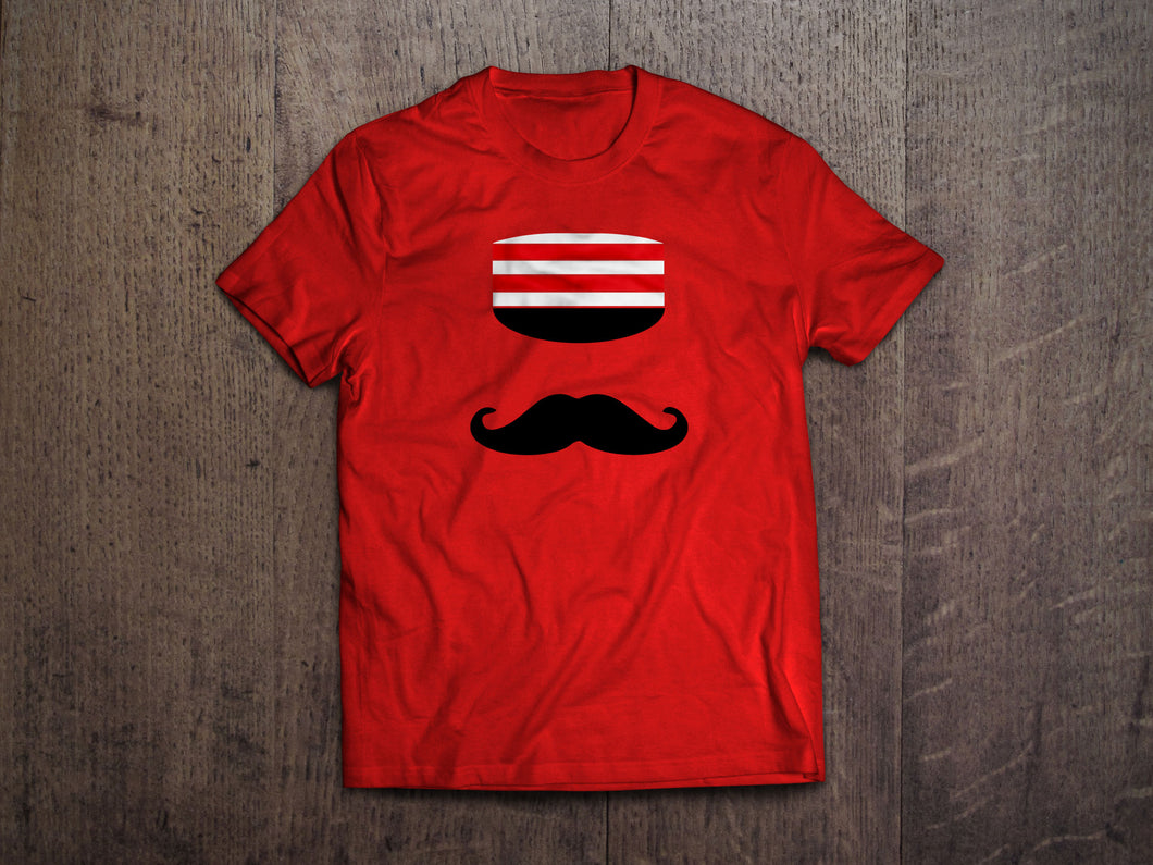 Baseball's Best Mustache T-Shirt