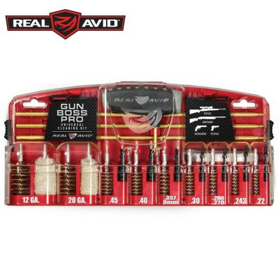 Real Avid Gun Boss Pro Universal Cleaning Kit - Hi Power Flashlights, LED Torches