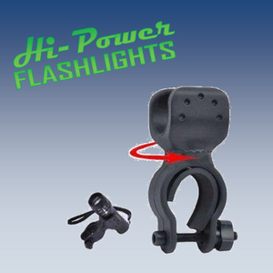 Clip Mount - Hi Power Flashlights