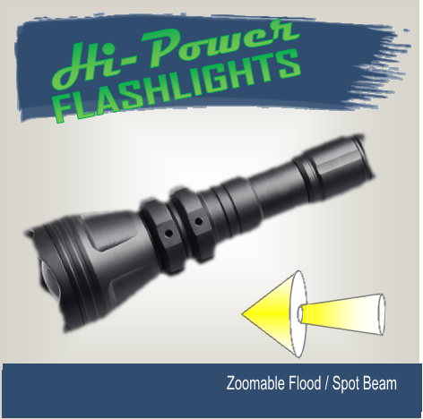 Hi-Power Comet - Hi Power Flashlights