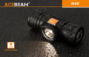 Acebeam H40 HD - Hi Power Flashlights