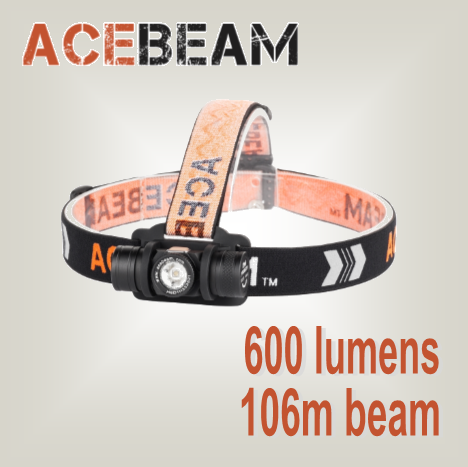 Acebeam H40 CRI - high performance headlamp - Hi Power Flashlights, LED Torches