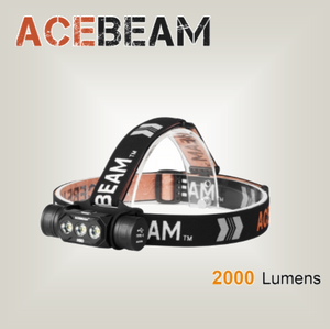 Acebeam H50  125 degree beam angle - Hi Power Flashlights, LED Torches
