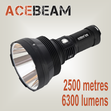 Acebeam K75  OUTSTANDING - Hi Power Flashlights