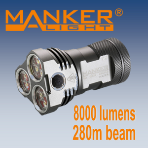Manker MK34 - Hi Power Flashlights, LED Torches
